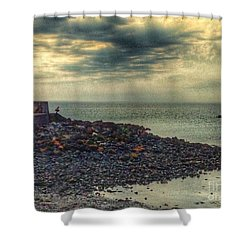 Beautiful Skies At Portpatrick 2 Shower Curtain