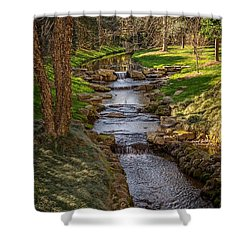 Beautiful Stream Shower Curtain