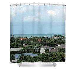 Beautiful Vero Beach Florida Shower Curtain by Megan Dirsa-DuBois