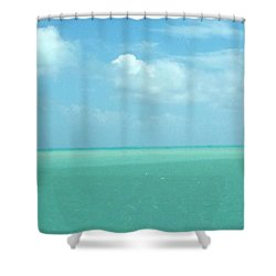 Beautiful Waters Shower Curtain
