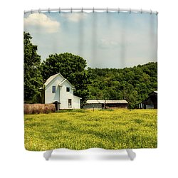 Beautiful West Virginia Shower Curtain by L O C
