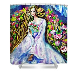 Beautiful World Shower Curtain