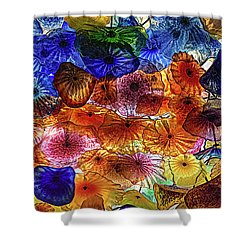 Beauty All Around Us Shower Curtain by Michael Rogers