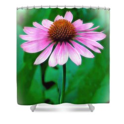 Beauty Among The Leaves Shower Curtain