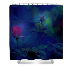 Beauty And The Mist Shower Curtain