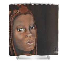 Beauty Shower Curtain by Annemeet Hasidi- van der Leij