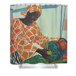 Beauty At Work Shower Curtain