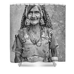 Beauty Before Age. Shower Curtain