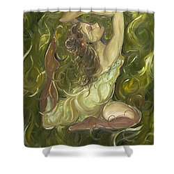 Beauty Has Surfaced  Shower Curtain