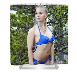 Beauty In Alaska Shower Curtain