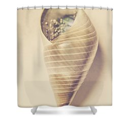 Beauty In Oceanic Symmetry Shower Curtain