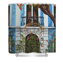 Beauty In Old San Juan Shower Curtain