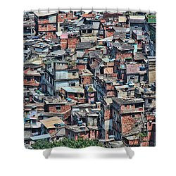 Shower Curtain featuring the photograph Beauty In The Chaos  by Kim Wilson