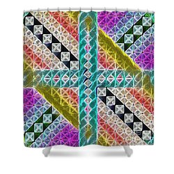 Beauty In The Cross Shower Curtain