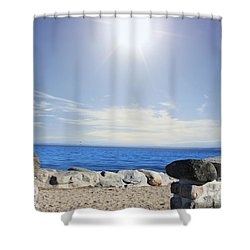 Beauty In The Distance Shower Curtain