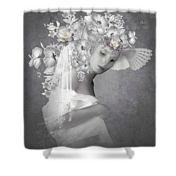 Beauty In The Eye Shower Curtain