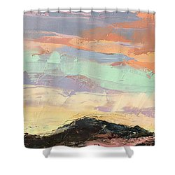 Beauty In The Journey Shower Curtain