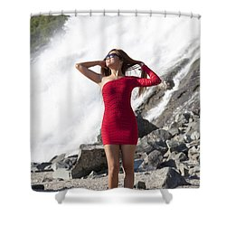 Beauty In Wilderness Shower Curtain