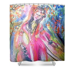 Beauty Is In The Eye Of The Beholder  Shower Curtain by Judith Desrosiers