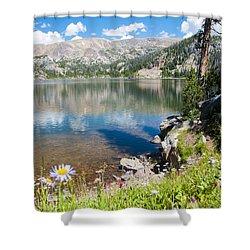 Beauty Lake Shower Curtain