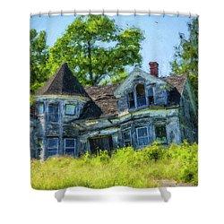 Beauty Lost  Shower Curtain by Ken Morris