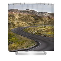 Shower Curtain featuring the photograph Beauty Of The Badlands South Dakota by John Hix