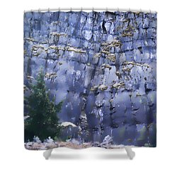 Beauty Of The Gorge Shower Curtain by Dale Stillman