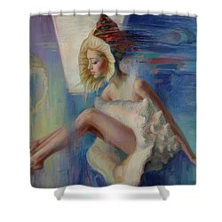 Beauty Shell Shower Curtain