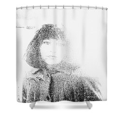 Beauty Shower Curtain by Steven Macanka