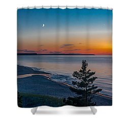 Beaver Creek Sunset Shower Curtain
