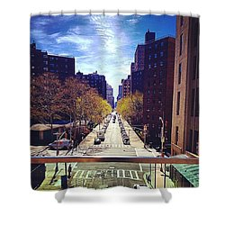 Highline Park Shower Curtain