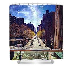 Highline Park Shower Curtain