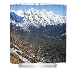 Beckoning Valley Shower Curtain