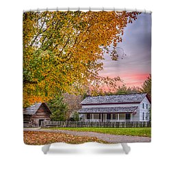 Becky Cabel House Shower Curtain