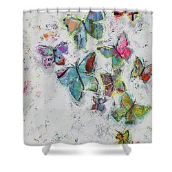 Becoming Free Shower Curtain