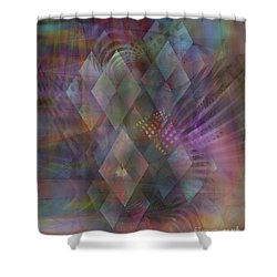 Bedazzled Shower Curtain by John Beck