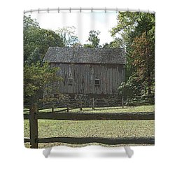 Bedford Barn Shower Curtain