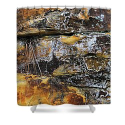 Bedrock Shower Curtain