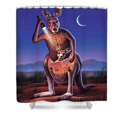 Bedtime For Joey Shower Curtain