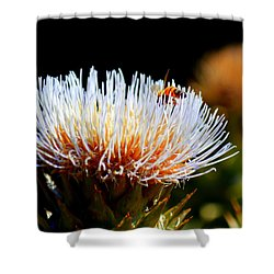 Bee And Artichoke Shower Curtain