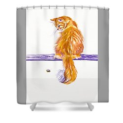 Bee-hind Shower Curtain
