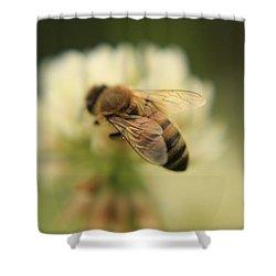 Bee Lives Matter Shower Curtain