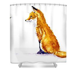 Bee Sweet Shower Curtain