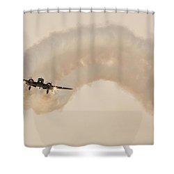 Beech 18 Shower Curtain