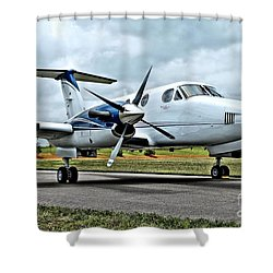Beechcraft Kingair 2 Shower Curtain