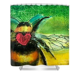 Beehave Shower Curtain