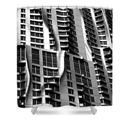 Beekman Tower Detail Shower Curtain by Andrew Fare