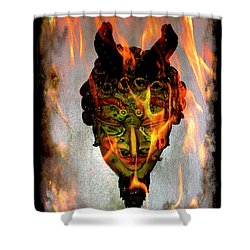 Shower Curtain featuring the photograph Beelzebub Iv by Al Bourassa