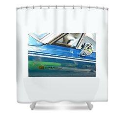 Beep Beep Hot Rod Shower Curtain