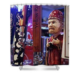 Beer Taps Shower Curtain